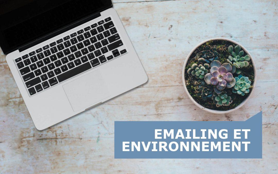 Emailing et environnement