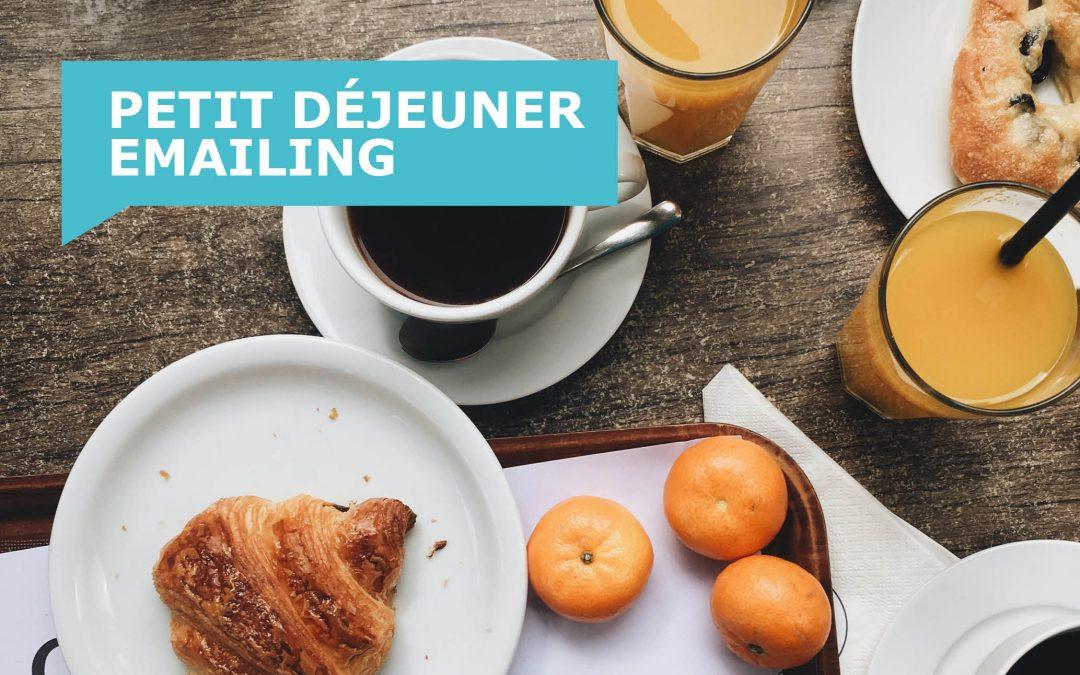 Petit Déjeuner emailing #1 – Le Recap'